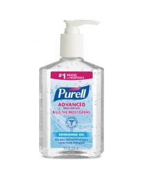 PURELL HAND SANITIZER 8 OZ PUMP